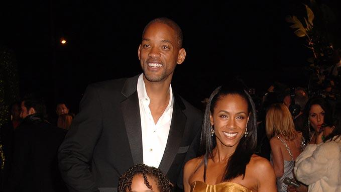 Will Smith Jada Pinkett Smith Jaden Smith 2007