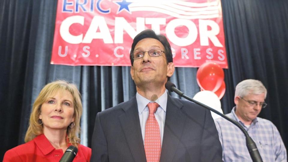 Eric Cantor Loses Primary Race, and More