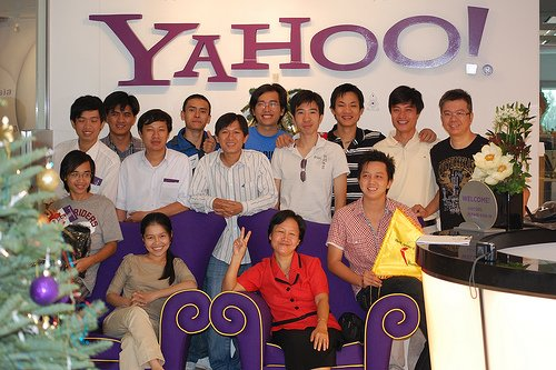 Moblin Vietnam competition finalists at Yahoo! Singapore