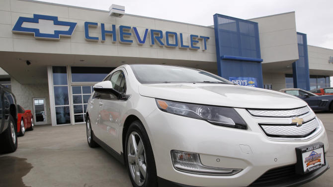 GM offers big discounts to boost Volt sales