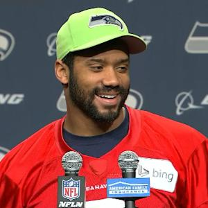 Russell Wilson: 'I look ugly when I cry'