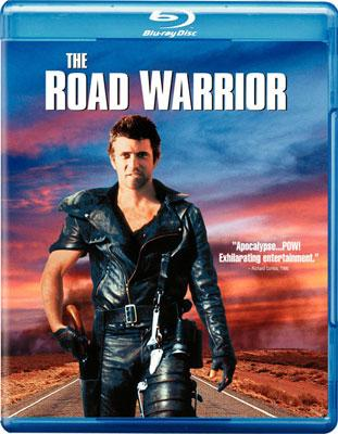 The Blu-ray release of Warner Bros. Pictures' The Road Warrior