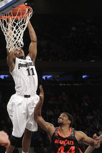 Cincy beats Providence 61-44 at Big East tourney