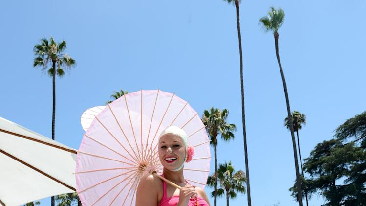 Beverly Hills Hotel 100th Anniversary Weekend - Cabana-Chic Pool Party Featuring A Special Performance By Aqualillies