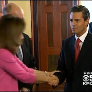 Mexican President Visits Sacramento, Meets With Gov. Brown
