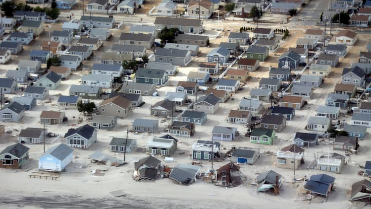 NJ's barrier islands are scenes of devastation