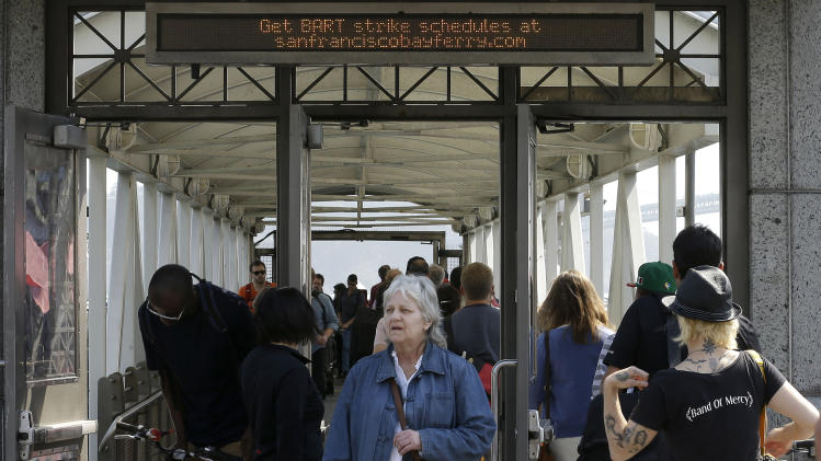 Weary commuters face 3rd day of transit strike