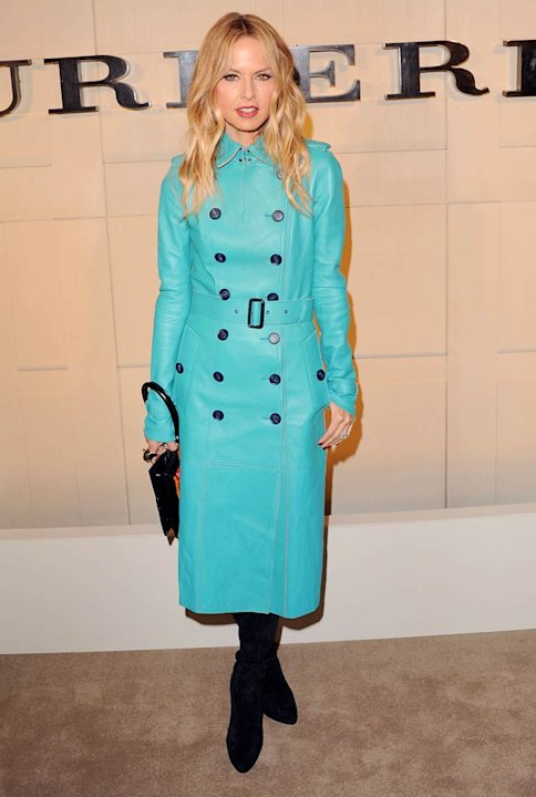 Rachel Zoe Burberry Body Event