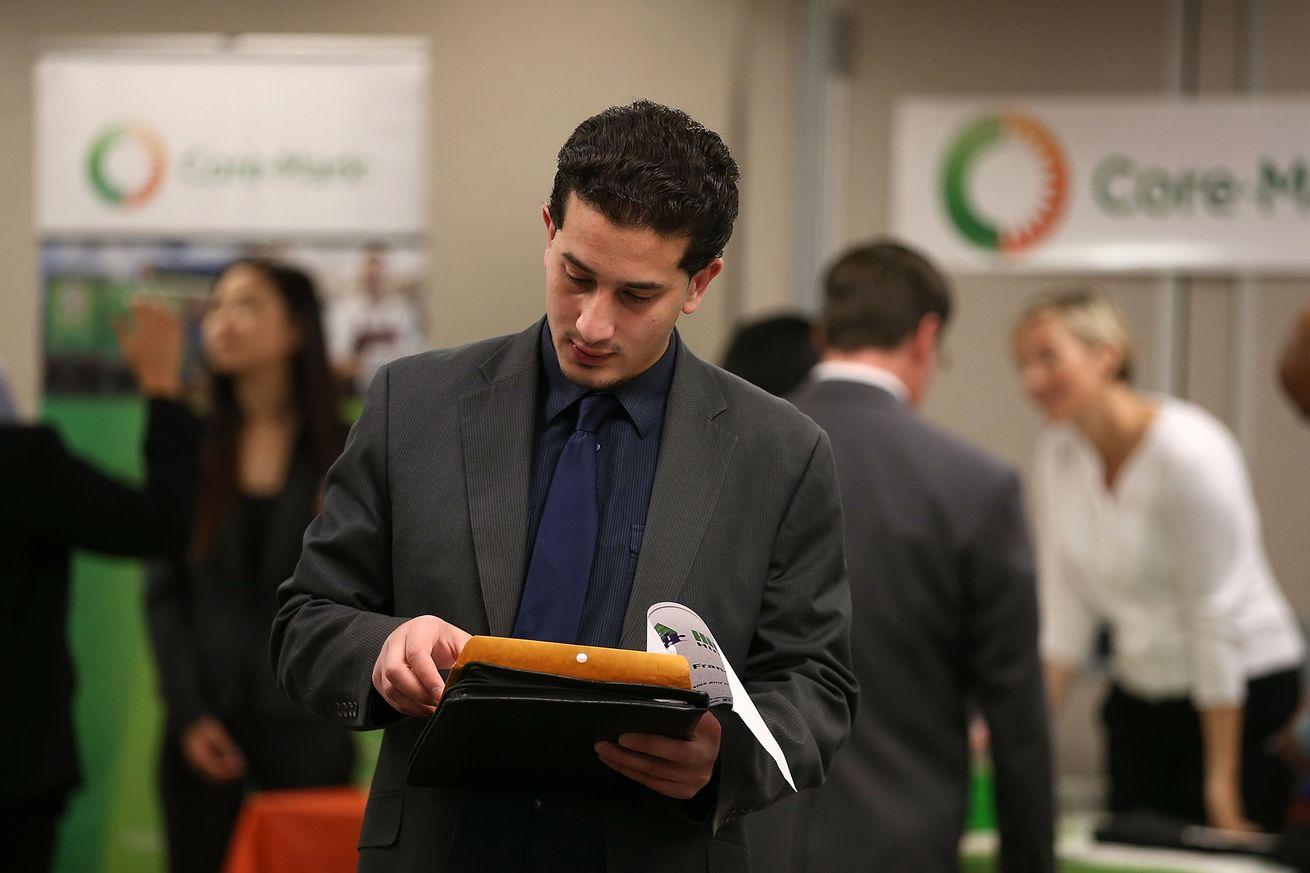 The unemployment rate is below 5 percent for the first time since 2008
