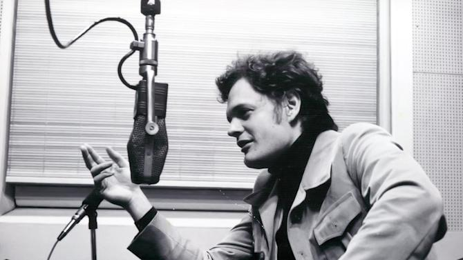 In this Nov. 1976, photo provided by WhyHunger, Harry Chapin urges radio listeners to get involved in the fight against hunger at a New York radio station during WhyHunger's second annual Hungerthon.  Chapin's work as an advocate for the hungry is a legacy that resonates 30 years after his death at age 38 when a tractor-trailer demolished his car on the Long Island Expressway.  (AP Photo/WhyHunger)
