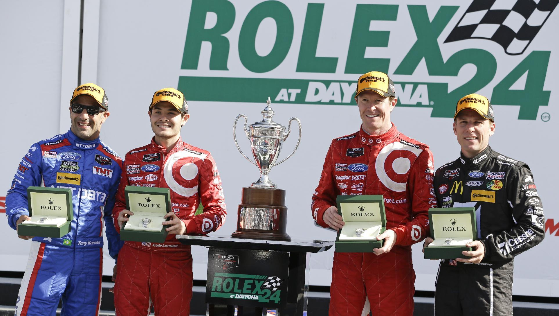 Chip Ganassi Racing's 'star car' wins Rolex 24 at Daytona