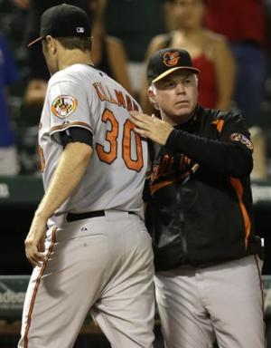 Tillman pitches Orioles past slumping Rangers 4-2