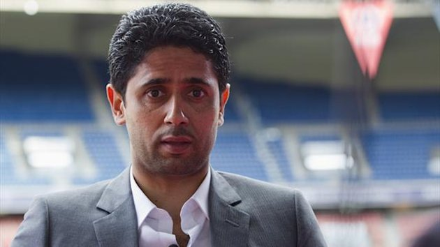 Nasser Al-Khelaifi, Paris St Germain&#39;s owner (Reuters)