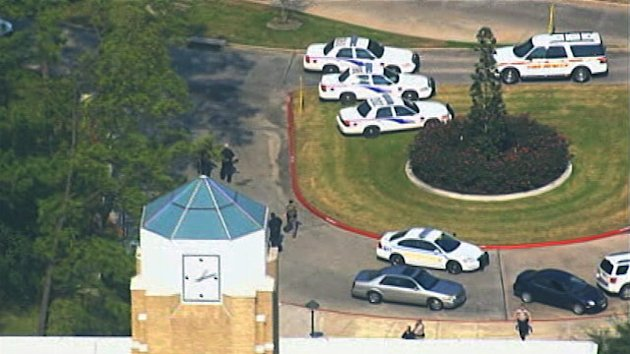 2 Held in Texas College Shooting (ABC News)