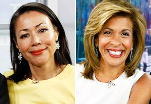 Ann Curry, Hoda Kotb  | Photo Credits: Peter Kramer/NBC