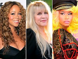 Stevie Nicks Apologizes for Saying Mariah Carey Should Strangle Nicki Minaj