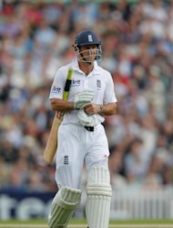 England have rallied despite losing captain Andrew Strauss lbw