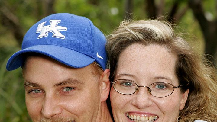 Married couple from Stone, Kentucky, David, left, a 32 year-old coalminer and Mary, a 31 year-old homemaker are one of the teams to return for The Amazing Race: All-Stars.