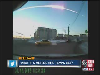 Tampa Bay area emergency officials are ready for a meteor strike