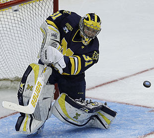 Michigan Senior Goalie Shawn Hunwick Continues His 'Hockey Rudy' Fable, Signs With Columbus Blue Jackets