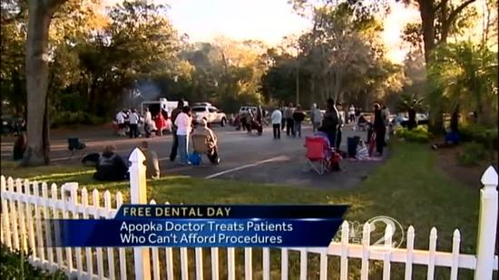 Apopka dentist offers free dental procedures