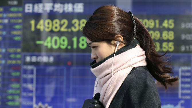 World stocks continue drop on emerging market woes