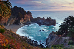 Pfeiffer Beach in Big Sur, California