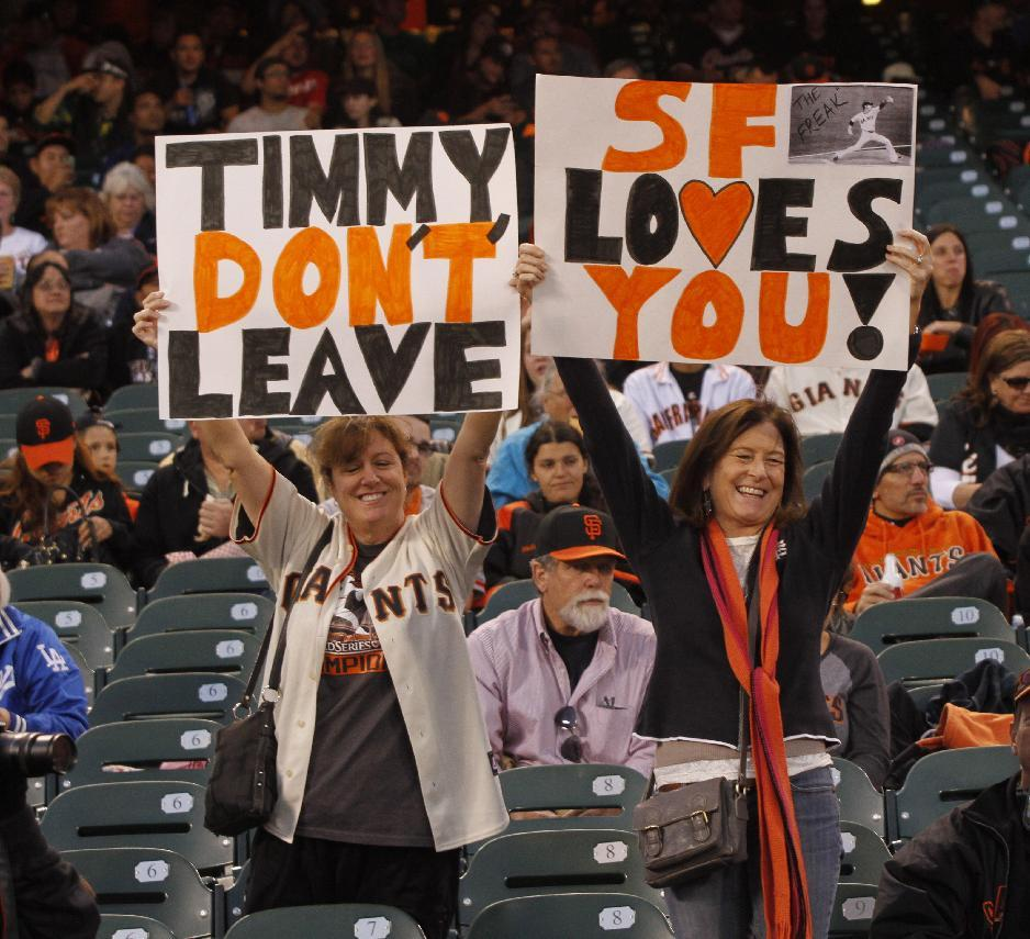 Giants win in possible Lincecum farewell outing