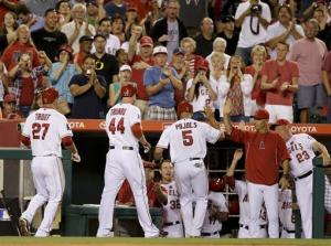 Angels rally from 7 runs down, stun Seattle 10-9
