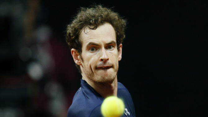Men's Singles - Great Britain's Andy Murray in action during his match against Belgium's Ruben Bemelmans