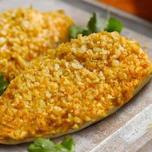 breaded curry chicken