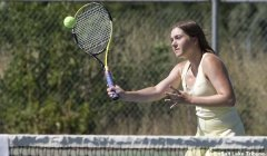 Skyline tennis star Alyssa Evensen