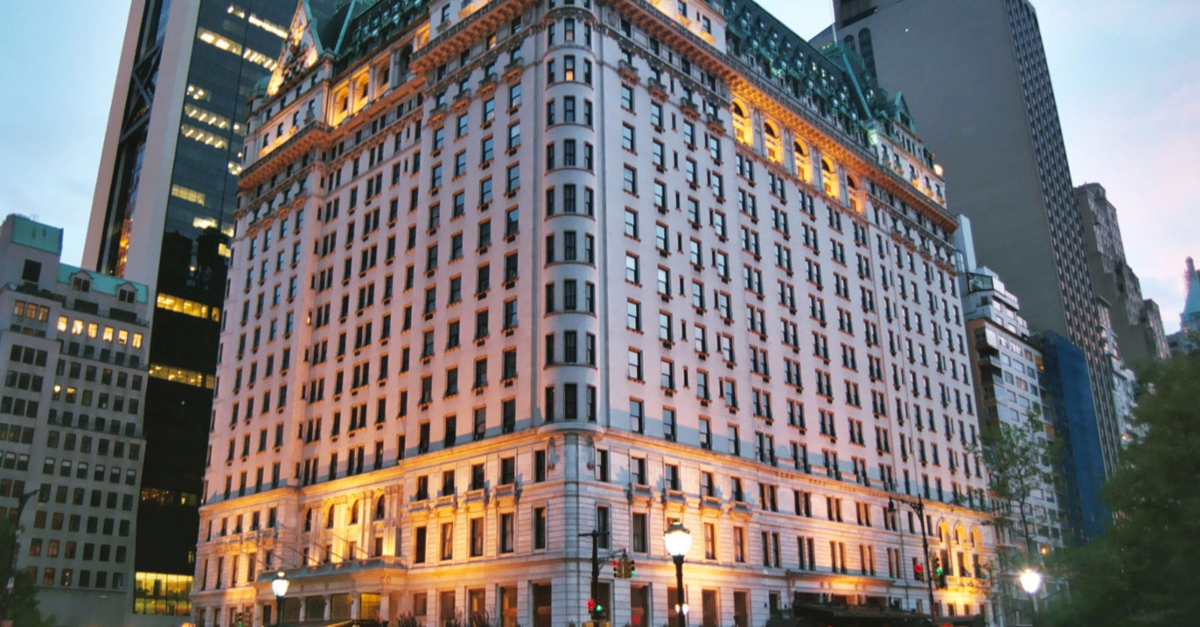 See the Famous New York Hotel the Plaza