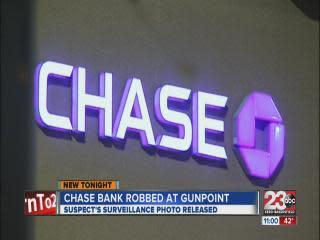 Chase Bank robbery on Panama Lane