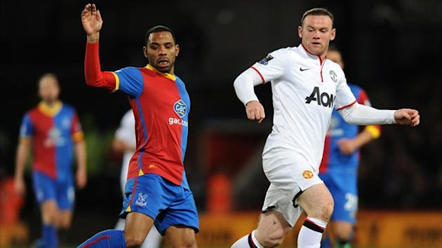 Crystal Palace's Jason Puncheon and Manchester United's Wayne Rooney (PA Photos)
