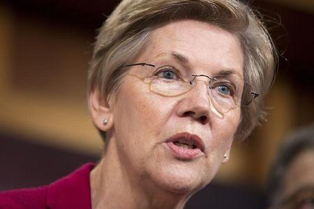 Exclusive: Upset by Warren, U.S. banks debate halting some campaign donations