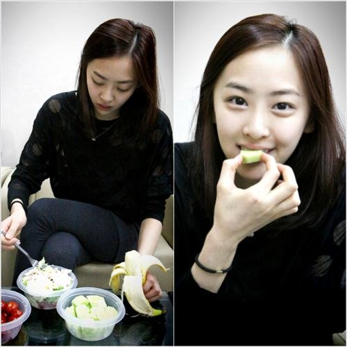 SISTARs Dasom Reveals Her Dieting Secret