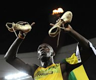 Jamaica's Usain Bolt currently holds the 100-metre sprint record with 9.58sec