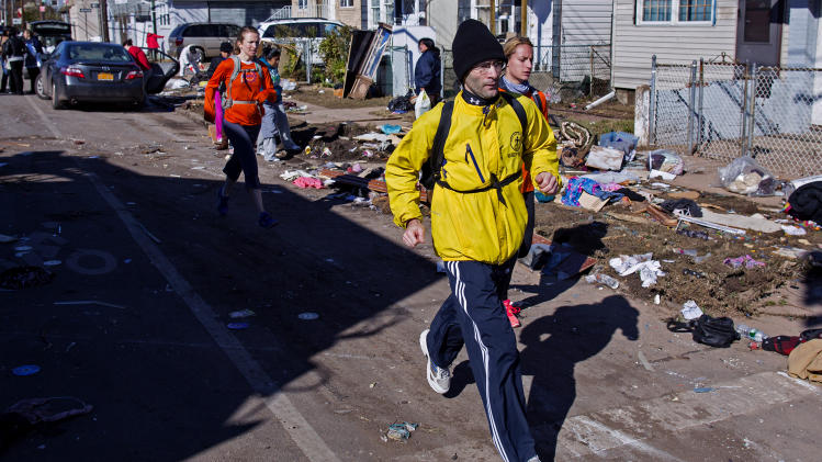 NY marathon canceled? Tell that to the runners