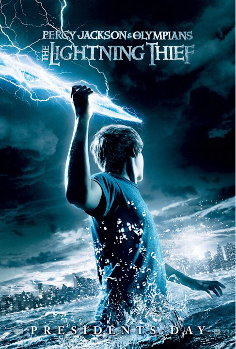 Percy Jackson and the Olympians 2010 20th Century Fox Production Photos Poster