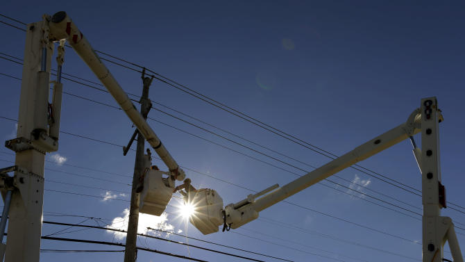Utility workers face tasks monumental and mundane
