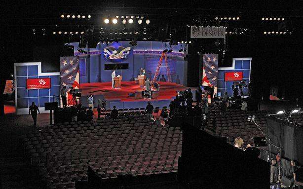Liveblog:The First Presidential Debate