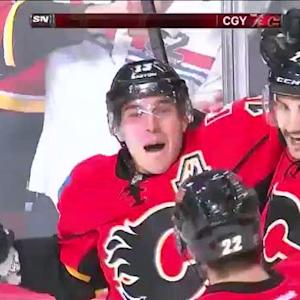 Mike Cammalleri beats Stalock with backhander
