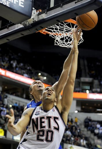 George leads Pacers past Nets 106-99
