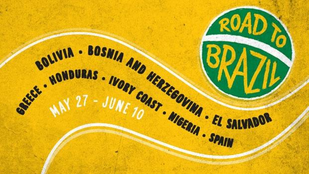 "Tickets for ""Road to Brazil"" series of pre-World Cup matches go on sale"