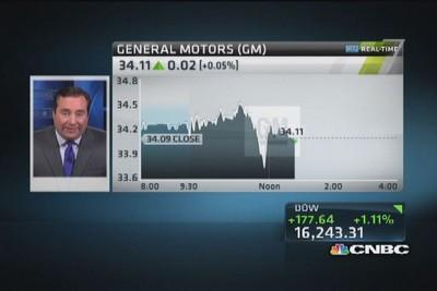 General Motors taking $300 million charge