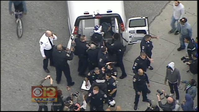 Protesters vow to 'shut down' Baltimore over Freddie Gray killing