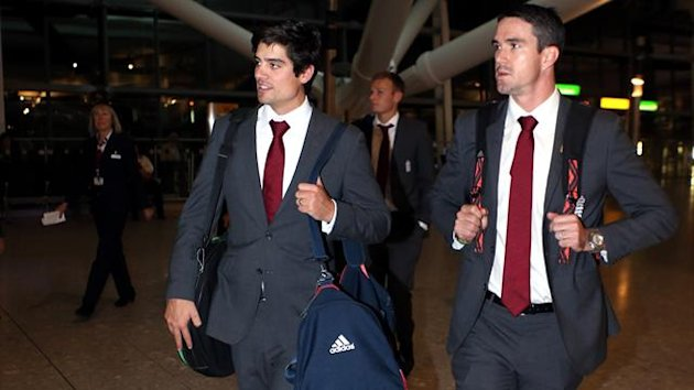 Alastair Cook, left, is happy to have Kevin Pietersen in the one-day set-up