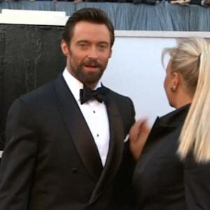 Jackman has skin cancer, Jolie stops traffic