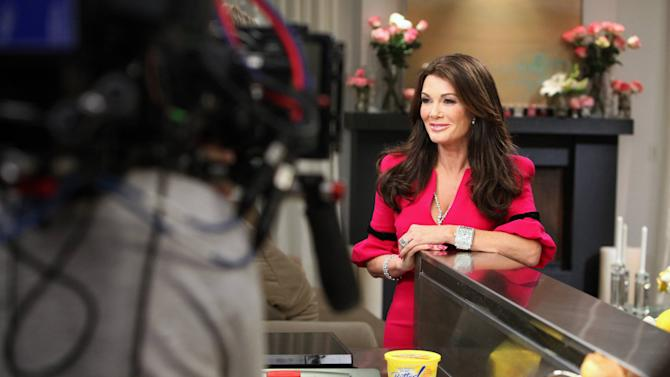 IMAGE DISTRIBUTED FOR I CAN'T BELIEVE IT'S NOT BUTTER! - In this image released on Monday, March 4, 2013, television personality, restaurateur and author Lisa Vanderpump caught on set of the I Can't Believe It's Not Butter! 'Breakfast After Dark' webisode series in Los Angeles. The webisodes premiere March 25, 2013 at www.icantbelieveitsnotbutter.com. (Photo by Casey Rodgers/Invision for I Can't Believe It's Not Butter!/AP Images)